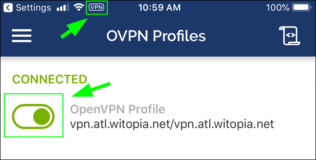 personalVPN™ OpenVPN Setup for iOS (Pro and Premier